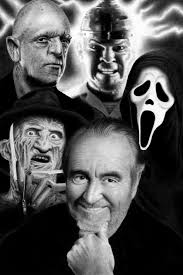 WES CRAVEN AND HIS CREATIONS | Wes craven, Slasher film, Horror films