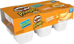 pringles snack stacks cheddar cheese
