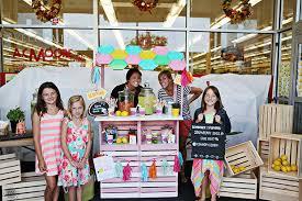 our diy lemonade stand east coast