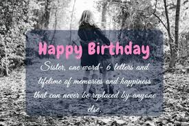 the best happy birthday wishes and messages for sister