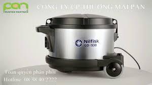 Máy hút bụi công nghiệp Nilfisk - máy giặt công nghiệp Fagor - YouTube