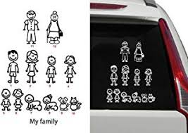 Auto Parts Accessories Batman Family Vinyl Decal Sticker Car Window Create Father Mother Sister Brother Moonnepal Com