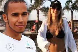Rita Ora and Lewis Hamilton caught getting VERY flirty with hosepipe as  they cosy up on holiday - Mirror Online