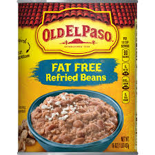 old el paso fat free refried beans 16