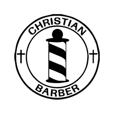 Christian Barber Vinyl Sticker
