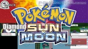 Pokemon Diamond Sun and Moon Completed - Pokemoner.com