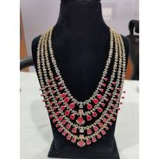 tanishq diamond necklaces latest