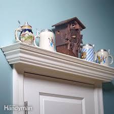 door display and window shelf plans