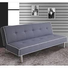 Shop Melva Gray Fabric Adjustable Sofa - Overstock - 9644345