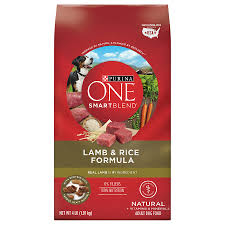 purina one smartblend dog food lamb