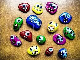 DIY: Juegos con piedras pintadas | Piedras pintadas, Manualidades, Diy