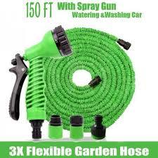 hose pipe with 3x flexible garden hose