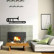 Shop Trumpet Musical Instrument Wall Vinyl Decal Sticker Overstock 8756277