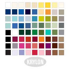 krylon metallic spray paint color chart