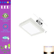 Đèn Led ốp trần 12w vuông ốp nổi Posson LP-So12x - P677485   Sàn thương mại  điện tử của khách hàng Viettelpost
