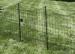 Zippity Outdoor Products Wf29012 41in Tall Black Metal Garden Fence Gate Amazon Ca Patio Lawn Garden
