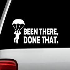 Parachute Skydiving Military Paratrooper Rigger Decal Sticker Etsy