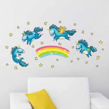 Rainbow Unicorn Wall Sticker Dulce0bs3s2ii0n