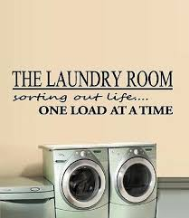 The Laundry Room Sorting Out Life One Load At A Time 4 Wall Or Window Decal Ebay