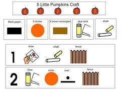 5 Little Pumpkins Prepositions Activity