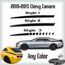 2010 2011 2012 2013 2014 2015 Chevy Camaro Quarter Stripes Decal Sticker Graphic Ebay