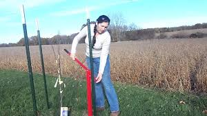 How To Use A Fence Post Puller Youtube