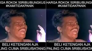 muncul meme meme lucu harga rokok naik rp ribu com