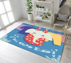 Floor Rug Mat Kids Bedroom Carpet Living Room Area Rugs Cartoon I M Cute Baby Ebay