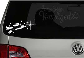 Peter Pan Wendy And The Boys Car Decal Car Decals Cool Stickers Boy Car