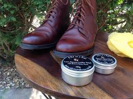beeswax leather shoe boot polish 50g