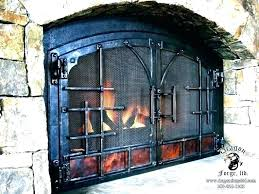 arched fireplace screen toovus co