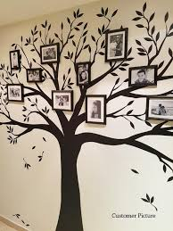 Wall Decal Family Tree Wall Decal Photo Frame Tree Decal Etsy Family Tree Wall Sticker Family Tree Wall Decal Family Tree Wall