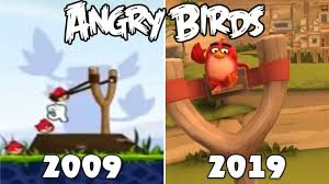 Evolution Of Angry Birds Games [2009-2019] - YouTube