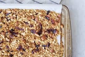 healthy homemade granola the greedy