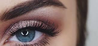 prom makeup blue eyes cat eye makeup