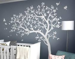 Tree Wall Decal Etsy
