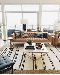camel leather sofa decorating ideas
