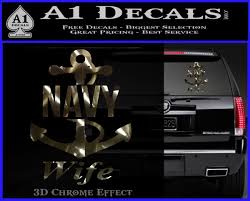 Navy Wife Decal Sticker A2 A1 Decals