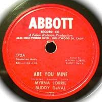 Are You Mine by Myrna Lorrie and Buddy DeVal - Samples, Covers and Remixes  | WhoSampled
