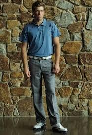 Byron Reynolds wearing Ready2Golf Fashion Polo & Fashion Pants   Polo  fashion, Fashion pants, Mens tops