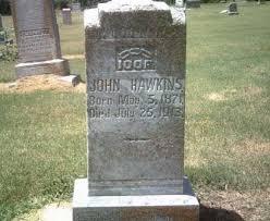 HAWKINS, JOHN W - Jackson County, Arkansas   JOHN W HAWKINS - Arkansas  Gravestone Photos