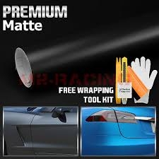 48 X60 Matte Flat Black Car Vinyl Wrap Sticker Decal Air Release Bubble Free Ushirika Coop