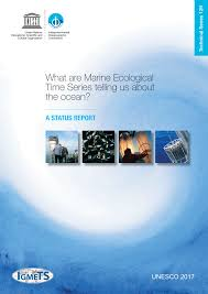 what are marine ecological time series