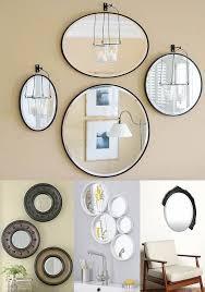 wall mirror set of 3 uttermost adelfium