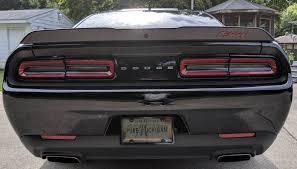Sticker Overlay Fits Dodge Challenger Challenger R T Rt Script Spoiler Decal