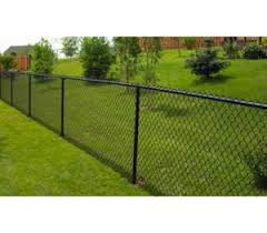 48 X 2 X 8 Ga Black Commercial Wire Knuckle Knuckle America S Fence Store