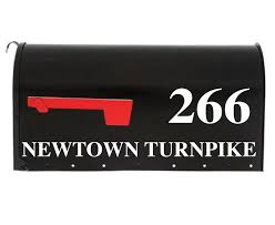 Mailbox Decal The Danielle Eastcoast Mailbox Decals