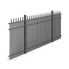 China Hot Sale Custom Low Cost Decorative Modern Metal Aluminum Tubular Fence Panels China Railing Cast Iron Fence