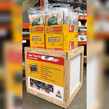 Shannon Green On Twitter Thank You Homedepot 6935 In Middleburg Florida For Making Me This Adorable Wingstack Box They Are Driving Sika Fence Post Mix Sales In The Fencing Isle Https T Co F2lo0ebwdf