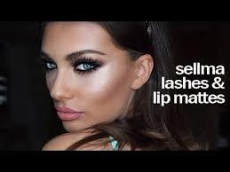 presenting sellma lashes lip mattes
